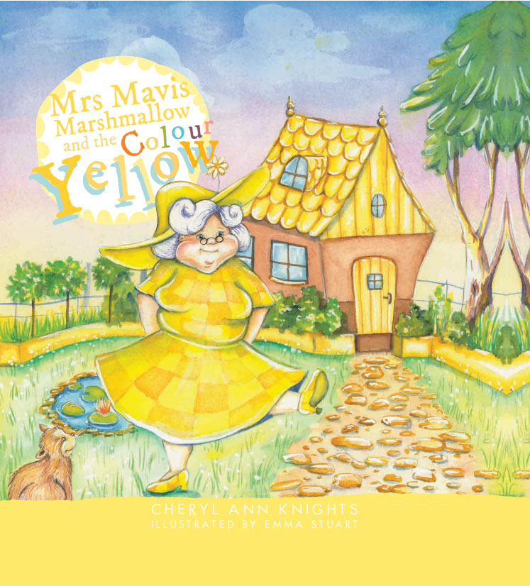 Mrs Mavis and the Colour Yellow Book Cover